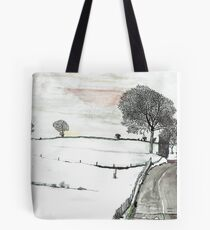 YORKSHIRE SNOW SCENE 2 Tote Bag