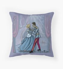 Dancing After Midnight Throw Pillow