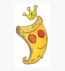 Pizza King Photographic Print