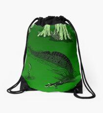 Swamp Dragon Drawstring Bag