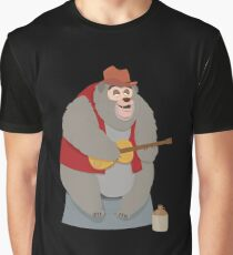 Big Al, The Country Bear Graphic T-Shirt
