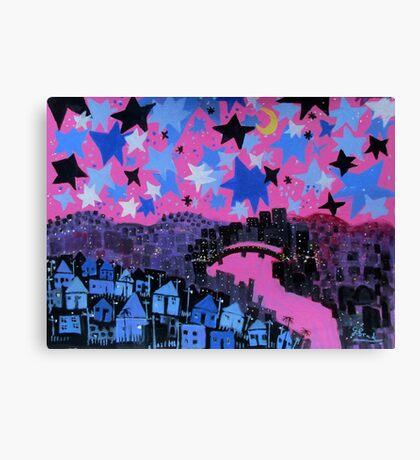 winter stars Canvas Print