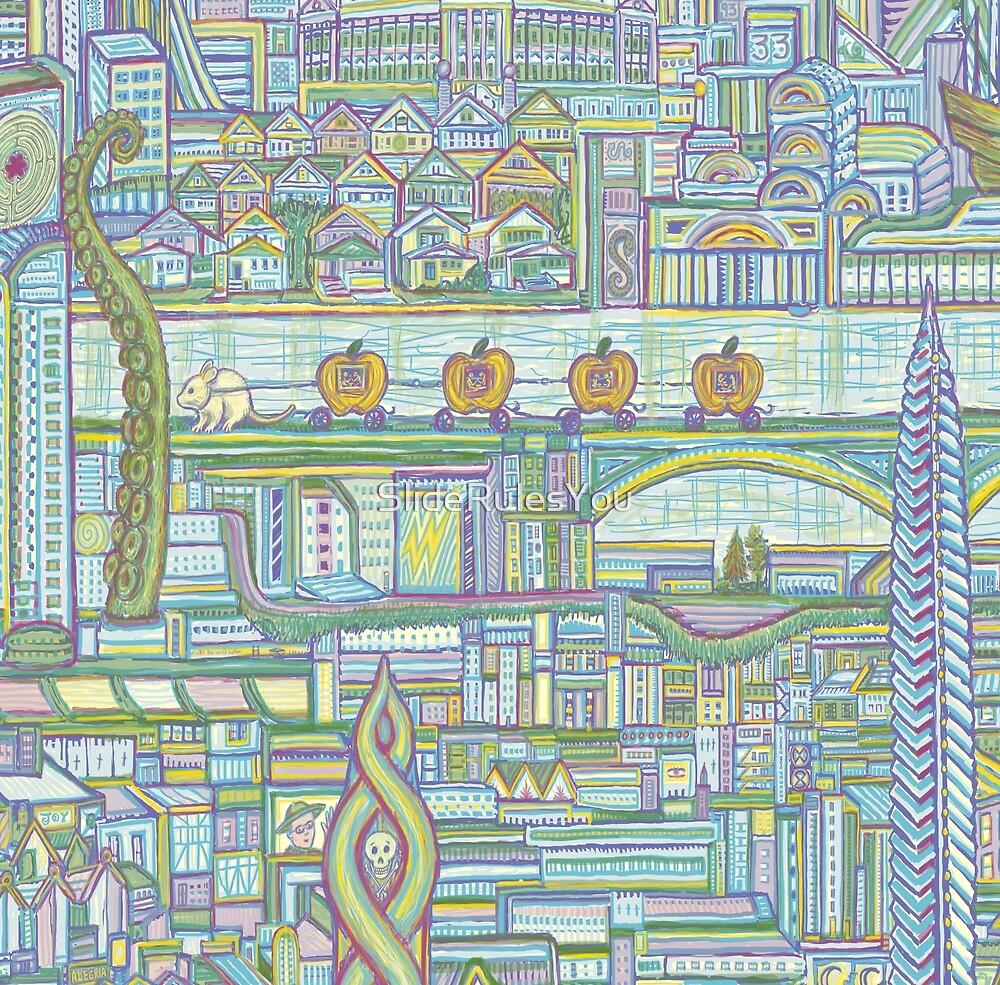 Megatropolis, Pumpkin District by SlideRulesYou