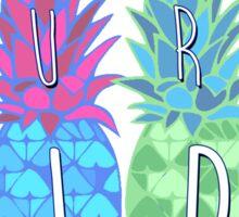 Quot Pura Vida Pineapple Quot Stickers By Nambro Redbubble
