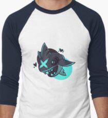 Sharpedo in Blue Men's Baseball ¾ T-Shirt