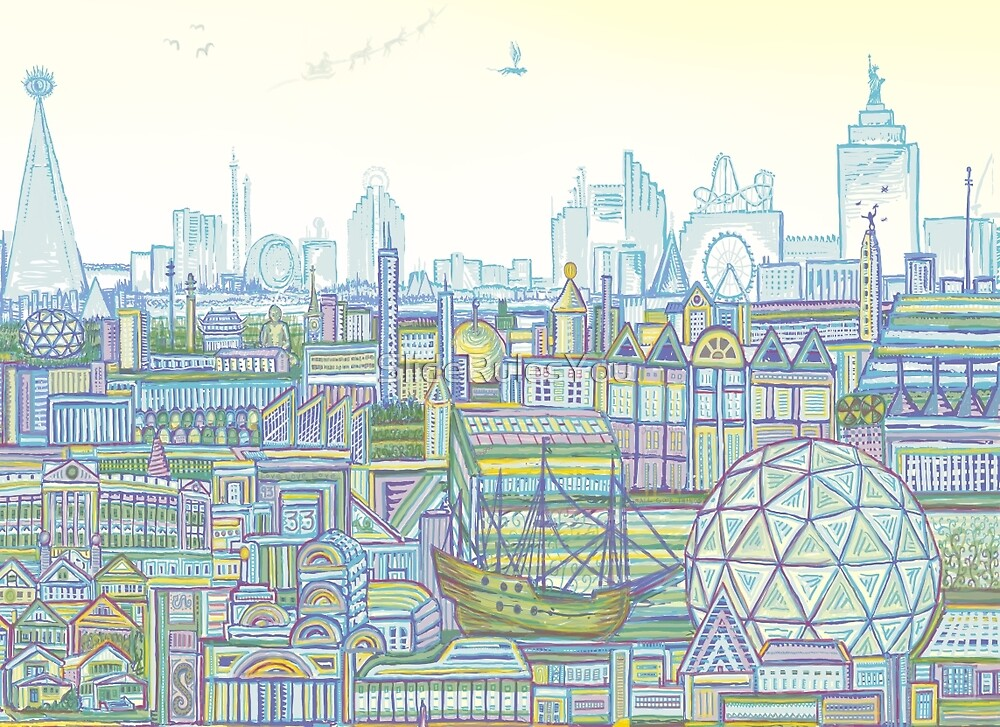 Megatropolis, Marina District by SlideRulesYou