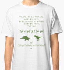 curse your sudden but inevitable betrayal, green, firefly Classic T-Shirt
