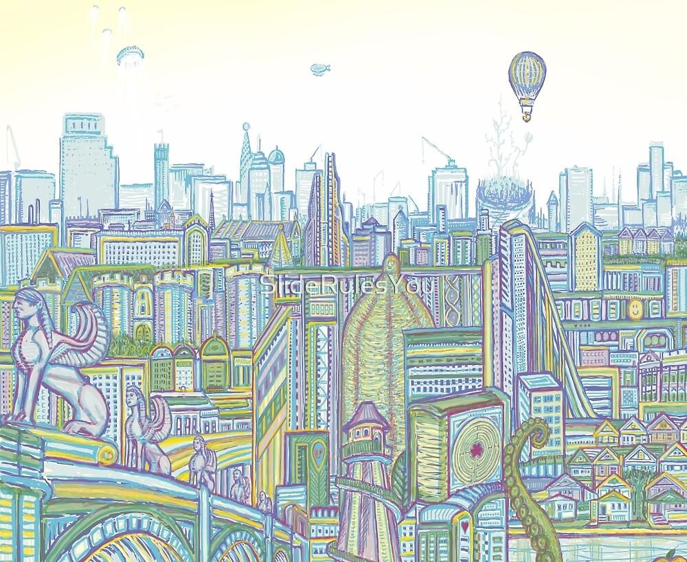 Megatropolis, Riddle District by SlideRulesYou