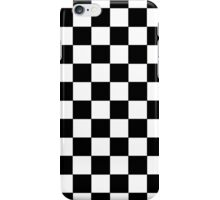 Checkered Black and White iPhone Case/Skin
