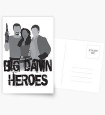 Big Damn Heroes - Firefly poster Postcards