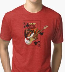 Camiseta de tejido mixto King Bass P