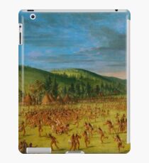 Ball-play of the Choctaw iPad Case/Skin