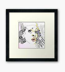 """HAT"" Framed Print"