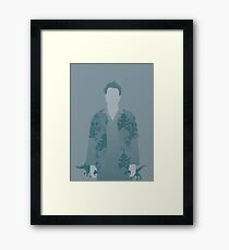 wash, firefly Framed Print