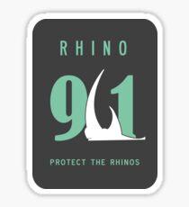 Rhino 911 - Reno 911  Sticker