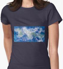 Hidden Paradise Women's Fitted T-Shirt