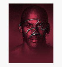 FLY - NBA Michael Jordan Bulls Polygon Art Photographic Print