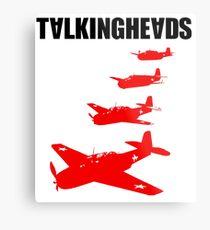 Talking Heads - Remain in Light (Back) Metal Print