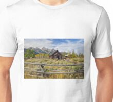 Log Constructed Church, Chapel of the Transfiguration Unisex T-Shirt