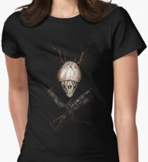 Bloodborne CrossWeapons(color) Womens Fitted T-Shirt