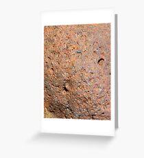Iron ore Greeting Card