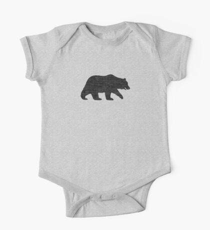 Grizzly Bear Silhouette(s) Kids Clothes