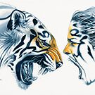 Tiger Totem by Michelle Tracey