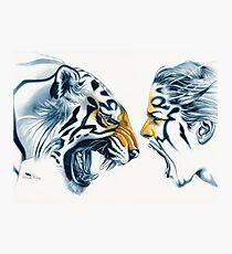 Tiger Totem Photographic Print
