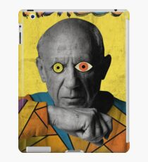 Picasso Photograph (Modern Art Style) iPad Case/Skin