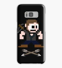 Walking Dead 8-bit Daryl Samsung Galaxy Case/Skin
