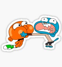 the amazing world of gumball stickers redbubble
