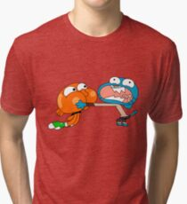 The amazing world of gumball 7 Tri-blend T-Shirt