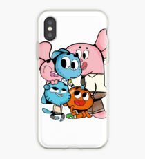 The amazing world of gumball 11 iPhone Case