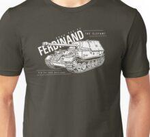 Ferdinand Tank Destroyer  Unisex T-Shirt
