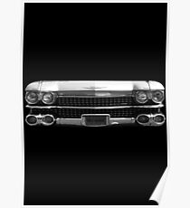 1959 Cadillac Front. Poster