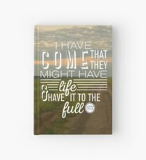 John 10:10 Full Life in Jesus Hardcover Journal