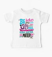 Be Who You Are Seuss Quotes Kids Clothes