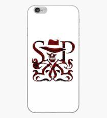 SKULDUGGERY RED/BLACK LOGO iPhone Case