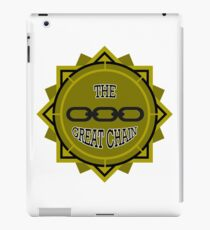 Pull The Great Chain! iPad Case/Skin