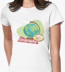 Geography Women's Fitted T-Shirt