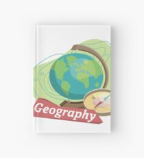 Geography Hardcover Journal
