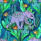 Little Elephant on a Jungle Adventure by micklyn
