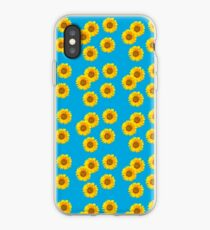 Sunflower Vintage Kitsch Pattern iPhone Case