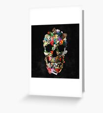 Fragile Skull 2 Greeting Card