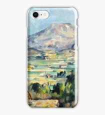 1890 - Paul Cezanne - Montagne Saint-Victoire iPhone Case/Skin