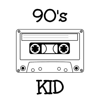 90's Kid by fakebadger