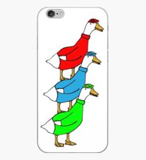 Another Quality Duck Stack- without words! iPhone Case