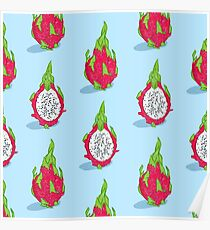 Dragon fruit Poster