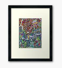 Birds Sing - Kerry Beazley Framed Print