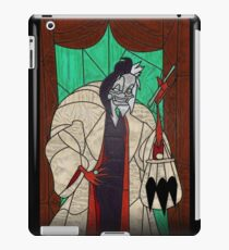 Seeing spots - Stained glass villains iPad Case/Skin